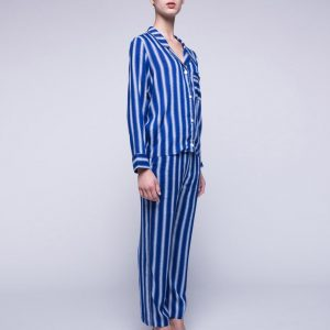 Blue Striped Pajama
