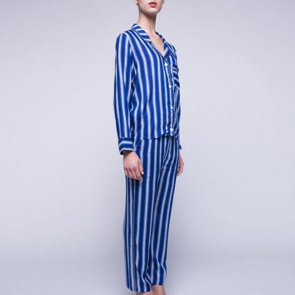 Blue Striped Pajama