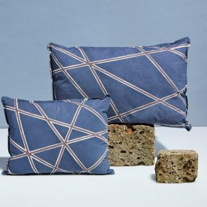 Blue Handmade Pillows