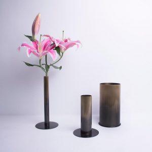Bronze Colored Vase