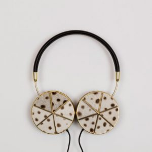 Gold Poney Headphone