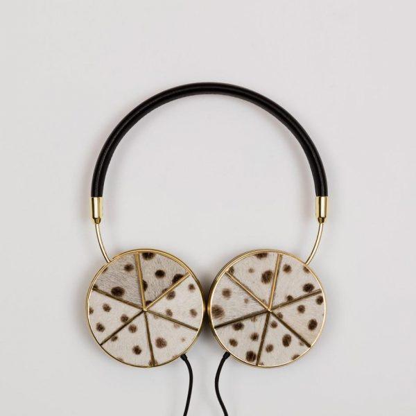 Gold Poney Headphone