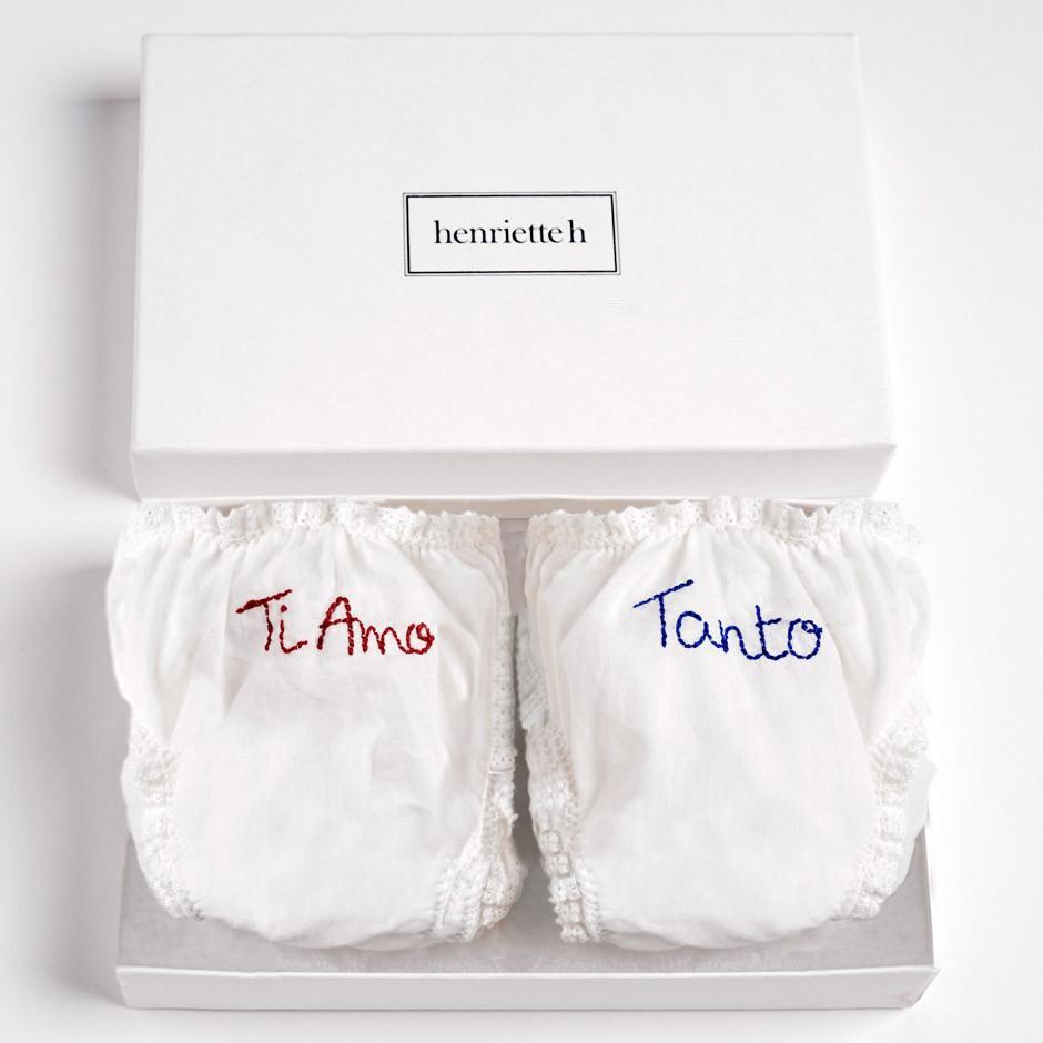 "Set of Panties ""Ti Amo, Tanto"""