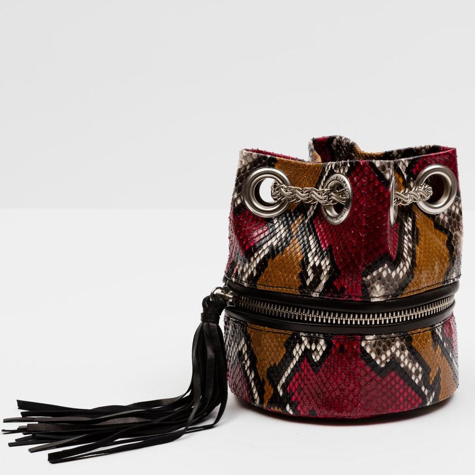 Red Python Bag
