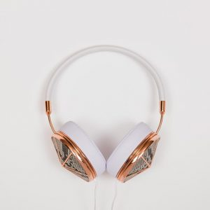 Rose Gold Phyton Headphone