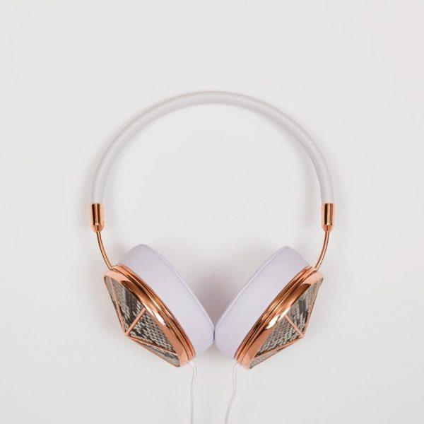 Rose Gold Phyton Headphone