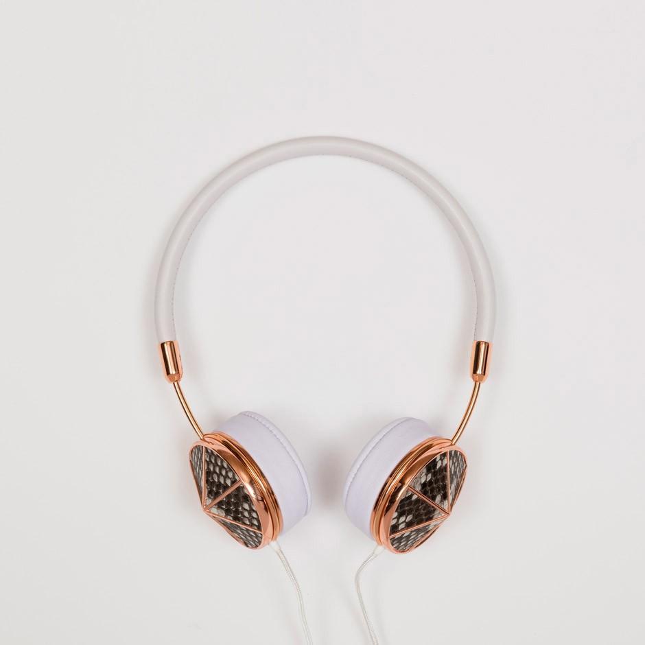 Small Rose Gold Phython Headphones