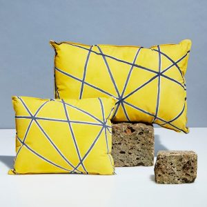 Yellow Handmade Pillows